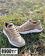 Кроссовки puma светло-коричневые, фото 1