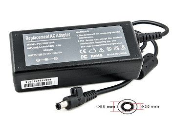 Блок питания для ноутбуков PowerPlant SAMSUNG 220V, 16V 60W 3.75A (5.5*3.0)