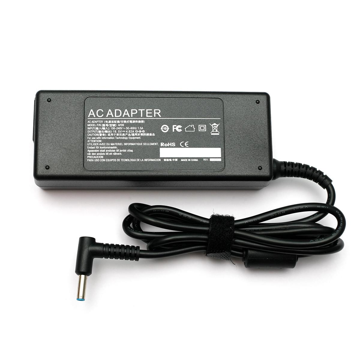 Блок питания для ноутбуков PowerPlant HP 220V, 19.5V 90W 4.62A  (4.5*3.0)