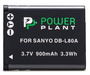 Aккумулятор PowerPlant Sanyo DB-L80, D-Li88 900mAh