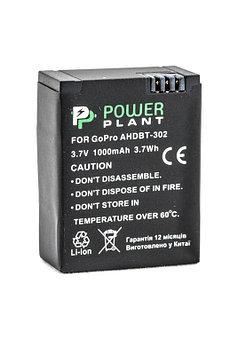 Аккумулятор PowerPlant для GoPro AHDBT-302 1000mAh