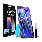 Защитное стекло PowerPlant для Huawei Mate 20 Pro (жидкий клей + УФ лампа)