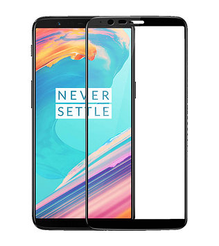 Защитное стекло Full screen PowerPlant для OnePlus 5T, Black
