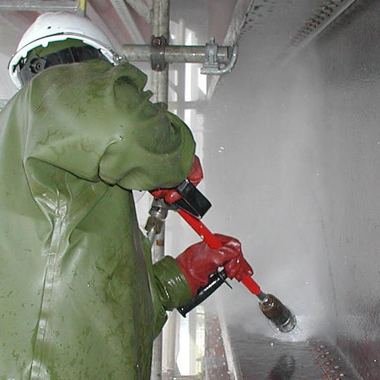 Очистка и мойка резервуаров гидроструйным методом