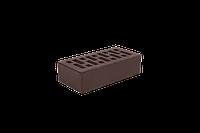 Облицовочный кирпич ангибированный (Recke Brickerei). коричневый