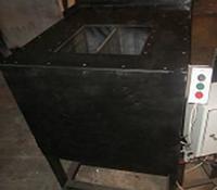 Станок полуавтоматизированный 1/2 (производительность 250-300 (19,2-22,4 м3) блоков в смену) (за один цикл производится 1 блок), фото 1