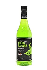 """Сироп Barline """"Green Banana"""" Зеленый банан, 1 литр"""