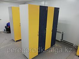 Шкафчики для одежды 4-секционные