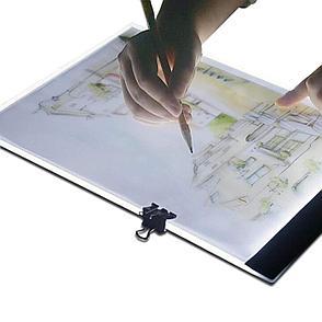 Световой планшет с LED-подсветкой для рисования и копирования, фото 2