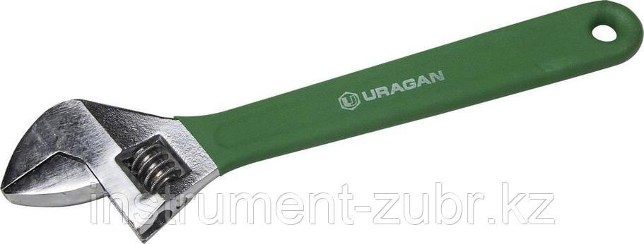 Ключ разводной, 250 / 30 мм, URAGAN, фото 2