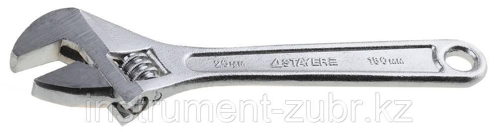 Ключ разводной, 150 / 20 мм, STAYER