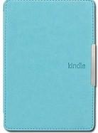 Кожаный чехол для Amazon Kindle 6 (бирюзовый)