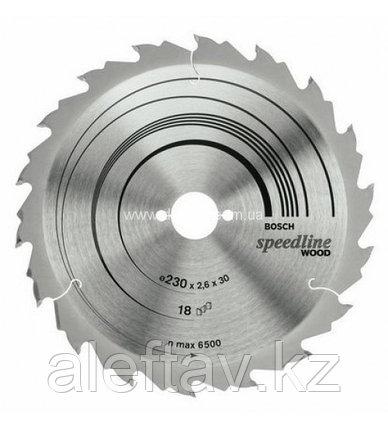 BOSCH, Пильный диск 230x30x18, фото 2