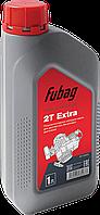 FUBAG Масло моторное полусинтетическое для двухтактных бензиновых двигателей 1 литр Fubag 2Т Extra