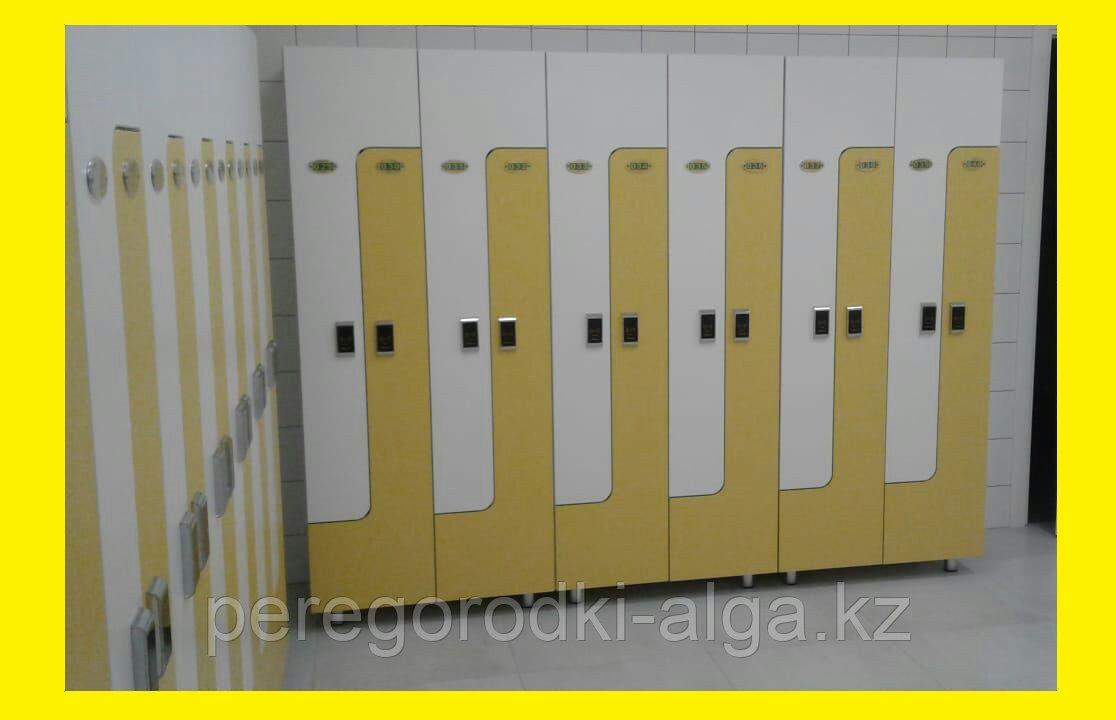 Шкафчики для одежды L-образный, 2-х местный