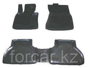 Коврики в салон BMW X5 кузов Е-70 (06-) (полимерные) , фото 2