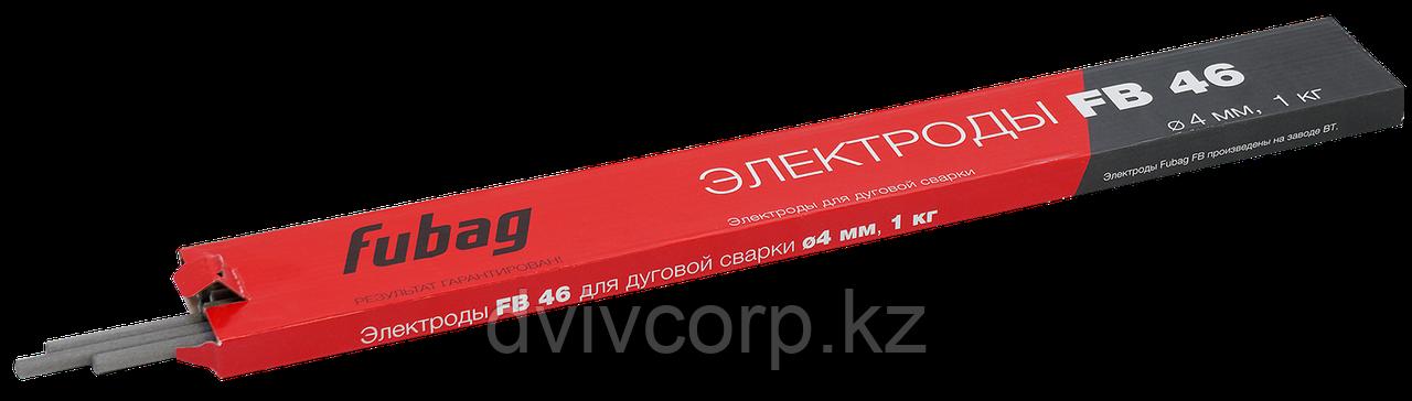 FUBAG Электрод сварочный с рутилово-целлюлозным покрытием FB 46 D4.0 мм (пачка 0.9 кг)
