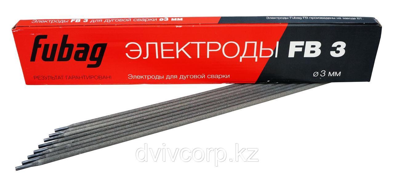 FUBAG Электрод сварочный с рутиловым покрытием FB 3 D3.0 мм (пачка 0.9 кг)