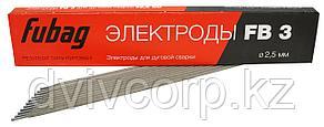 FUBAG Электрод сварочный с рутиловым покрытием FB 3 D2.5 мм (пачка 0.9 кг)