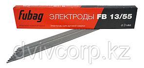 FUBAG Электрод сварочный с основным покрытием FB 13/55 D3.0 мм (пачка 0.9 кг)