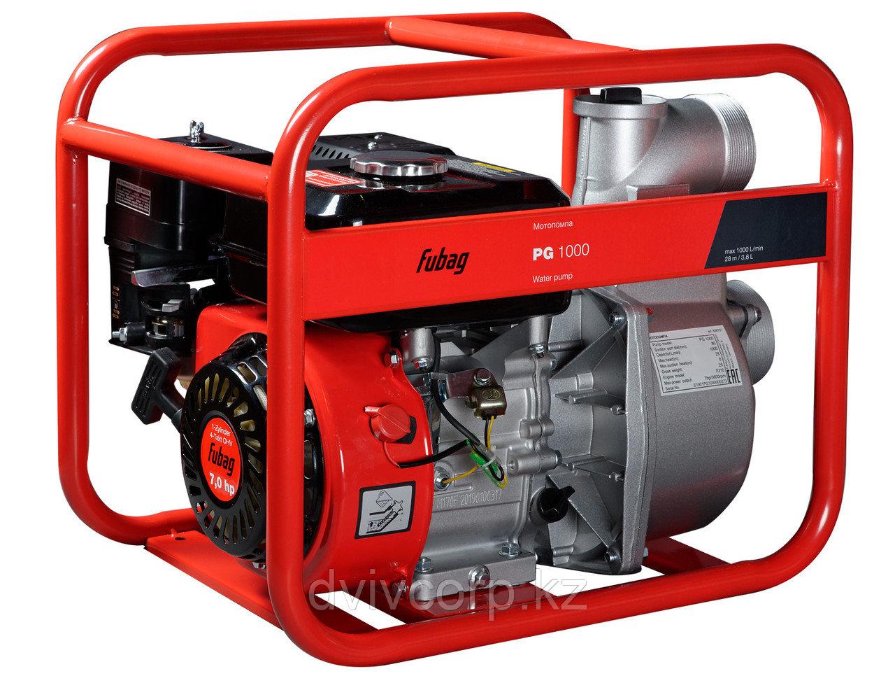 FUBAG Бензиновая мотопомпа PG 1000 для чистой воды