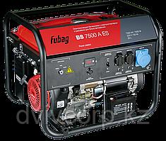 FUBAG Бензиновый генератор с электростартером и коннектором автоматики BS 7500 A ES