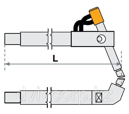 FUBAG Верхнее плечо наклонное O 30 х 200мм для серии SG 8-12-18-25
