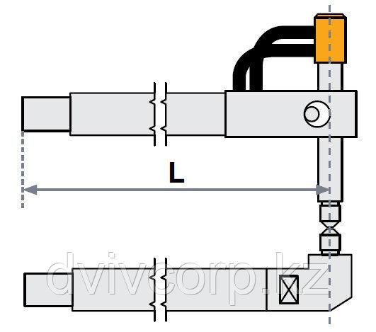 FUBAG Верхнее плечо прямое O 22 х 125мм для серии SG 4-6