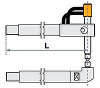 Верхнее плечо прямое O 30 х 300мм для серии SG 8-12-18-25