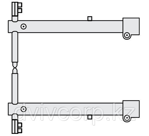 FUBAG Комплект плеч O 45 х 400мм для серии RV