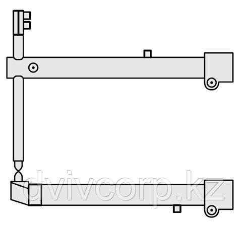 FUBAG Комплект плеч O 45 х 800мм прямые с уменьшенным электрододержателем для серии RV