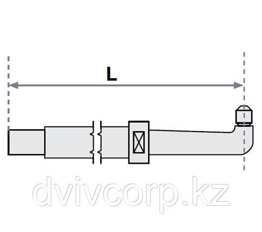 FUBAG Нижнее плечо O 40 х 200мм прямое с уменьшенным электрододержателем для SG 36-42