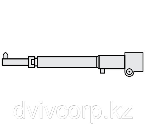 FUBAG Нижнее плечо O 45 х 800мм прямое_тонкое для серии RS 35i