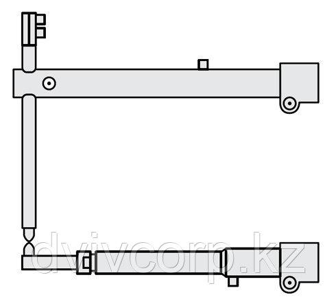 Плечи O 45 х 600мм прямые c тонким нижним плечом для серии RSV