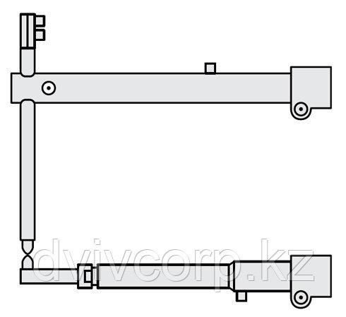 FUBAG Плечи O 45 х 800мм наклонные с тонким нижним плечом для серии RS 35i