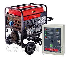 FUBAG Бензиновый генератор с электростартером и коннектором автоматики BS 11000 A ES + Блок автоматики