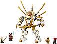 71702 Lego Ninjago Золотой робот, Лего Ниндзяго, фото 3