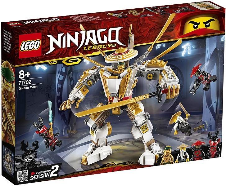 71702 Lego Ninjago Золотой робот, Лего Ниндзяго