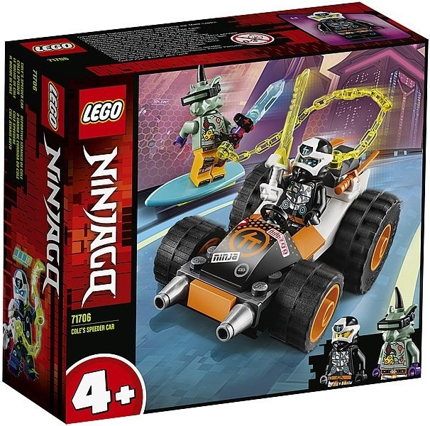71706 Lego Ninjago Скоростной автомобиль Коула, Лего Ниндзяго