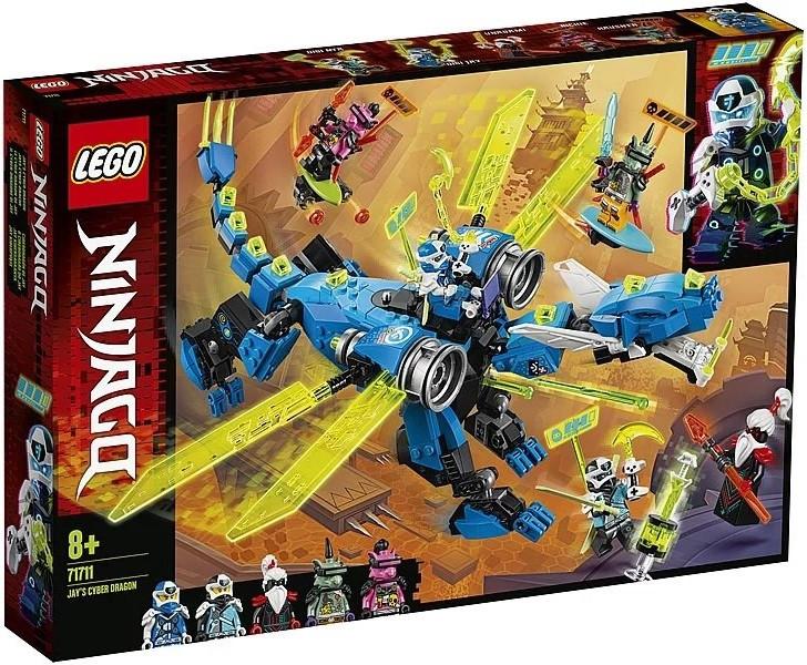 71711 Lego Ninjago Кибердракон Джея, Лего Ниндзяго