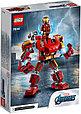 76140 Lego Super Heroes Железный Человек: трансформер, Лего Супергерои Marvel, фото 2