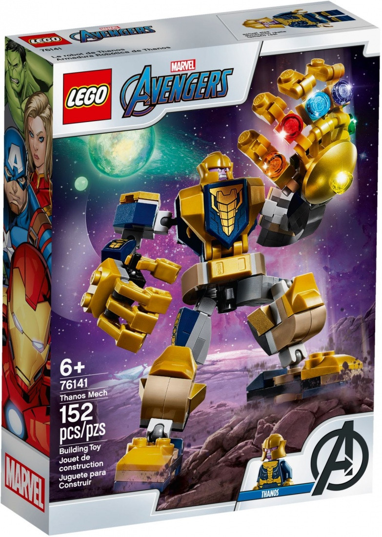 76141 Lego Super Heroes Танос: трансформер, Лего Супергерои Marvel
