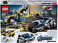 76142 Lego Super Heroes Мстители: Атака на спортбайке, Лего Супергерои Marvel, фото 2