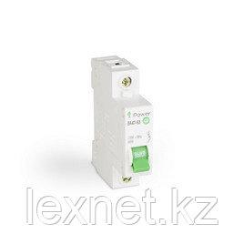 Автоматический выключатель реечный iPower ВА47-63 1Р 6А
