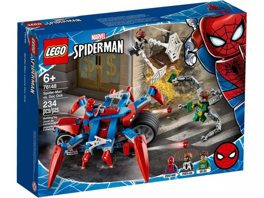 76148 Lego Super Heroes Человек-паук против Доктора Осьминога, Лего Супергерои Marvel