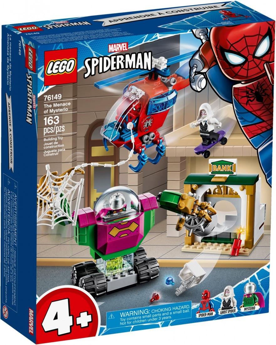 76149 Lego Super Heroes Угрозы Мистерио, Лего Супергерои Marvel