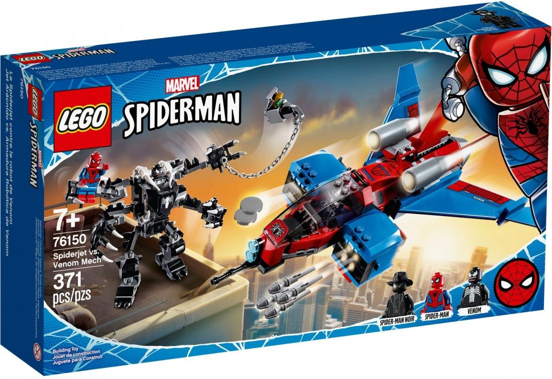 76150 Lego Super Heroes Реактивный самолёт Человека-Паука против Робота Венома, Лего Супергерои
