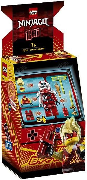 71714 Lego Ninjago Игровая капсула для аватара Кая, Лего Ниндзяго