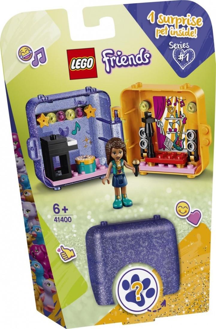 41400 Lego Friends Игровая шкатулка Андреа, Лего Подружки
