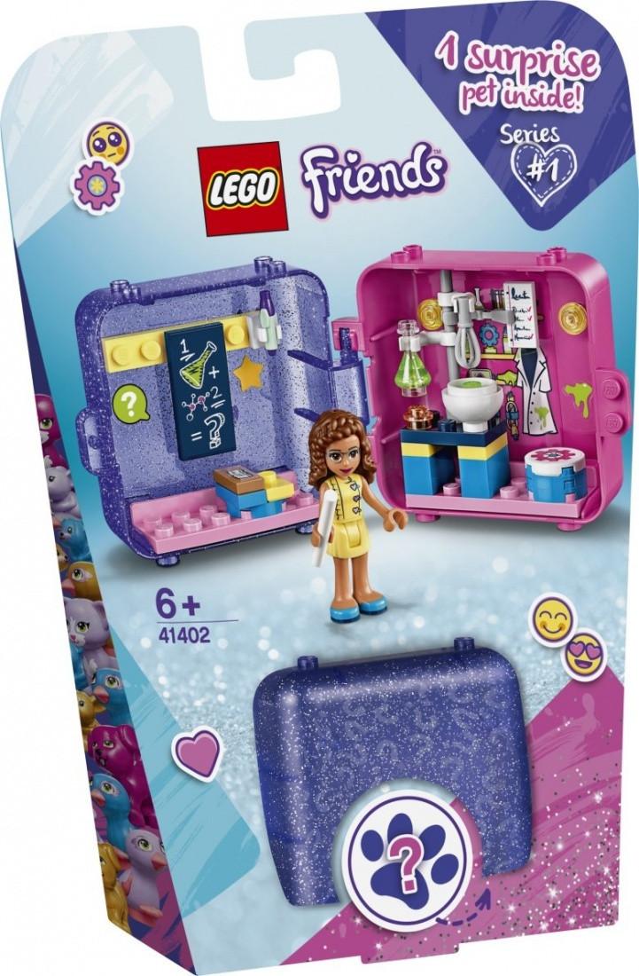 41402 Lego Friends Игровая шкатулка Оливии, Лего Подружки